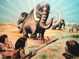 マンモスと人類の祖先